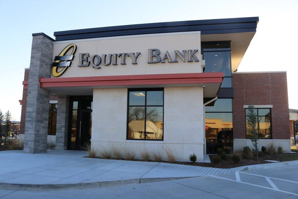 Equity Bank Andover branch exterior.