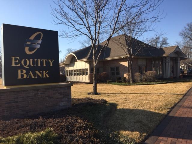 Equity Bank Clinton branch exterior.