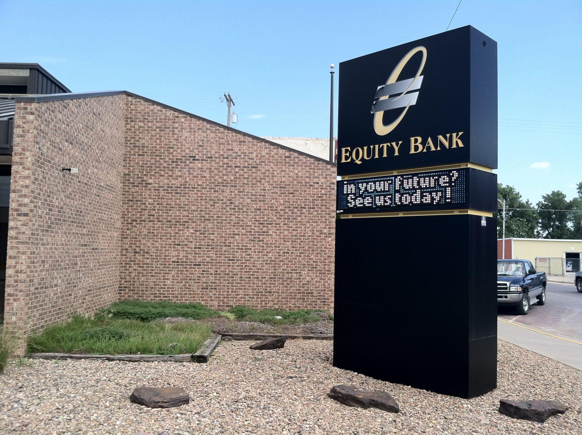 Equity Bank Ellis branch exterior.