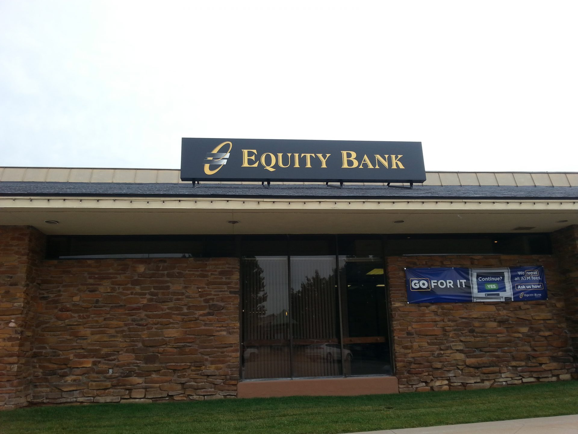 Equity Bank Independence branch exterior.