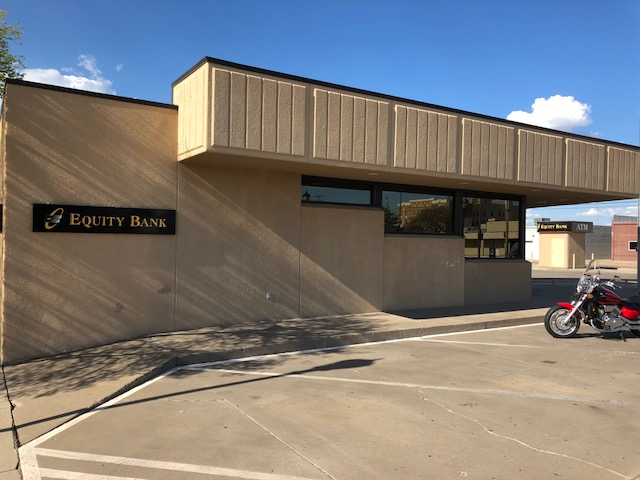 Equity Bank Liberal 4th Street branch exterior.