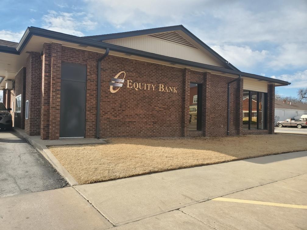 Equity Bank Neodesha branch exterior.