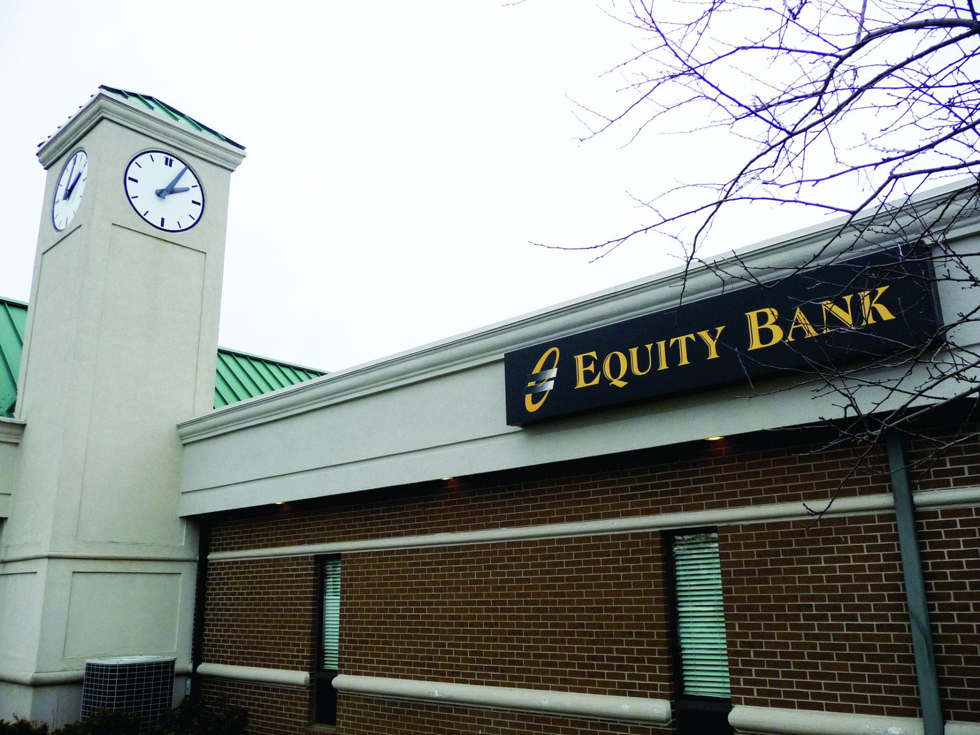 Equity Bank Sedalia branch exterior.