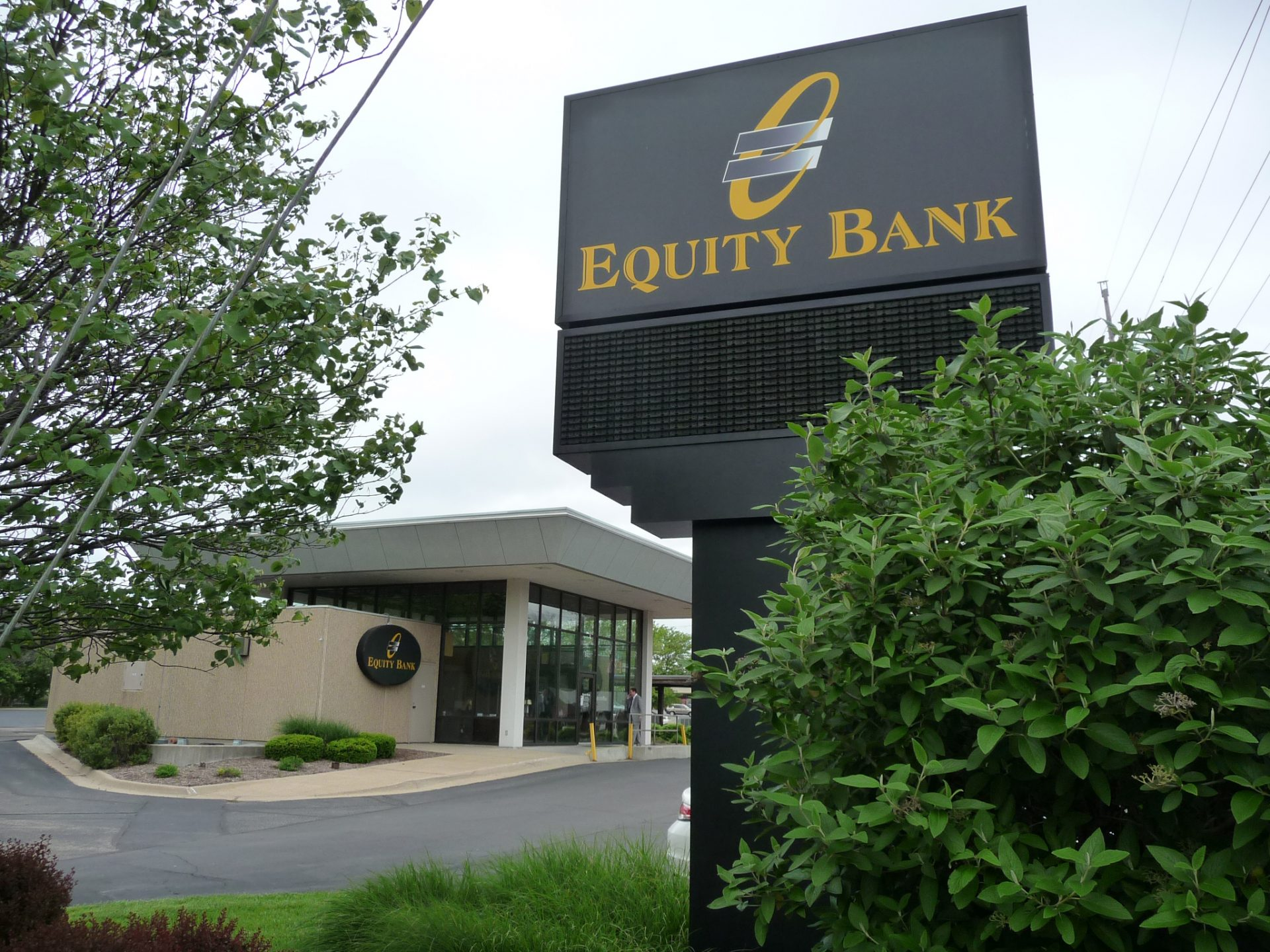 Equity Bank Topeka Gage branch exterior.