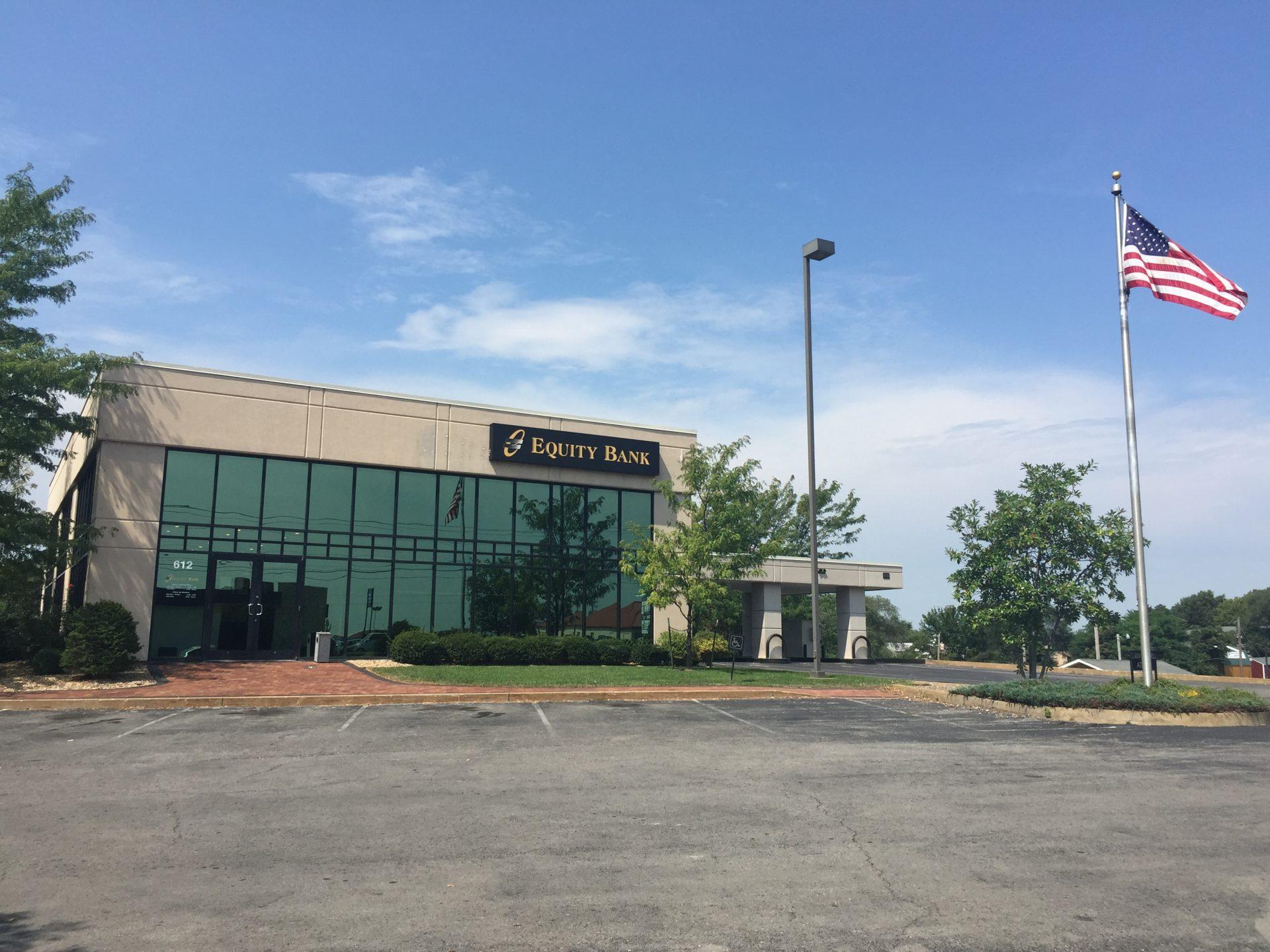 Equity Bank Warrensburg branch exterior.