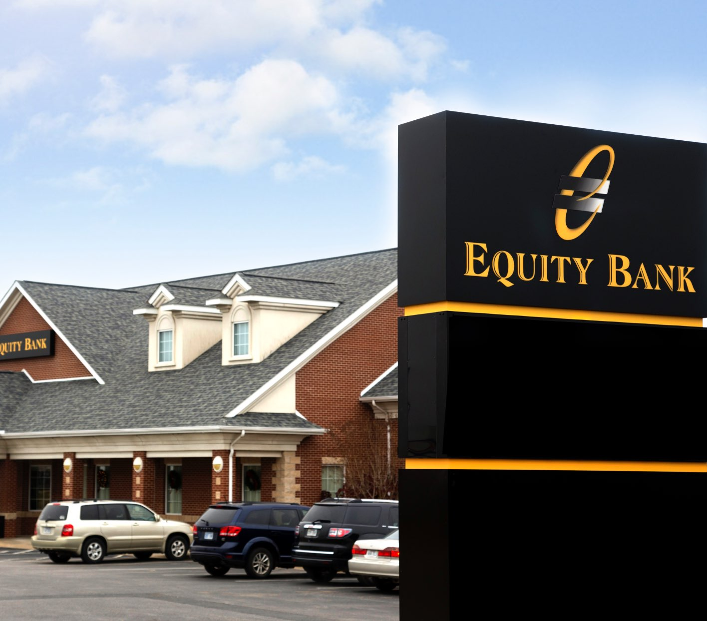 outdoor equity sign